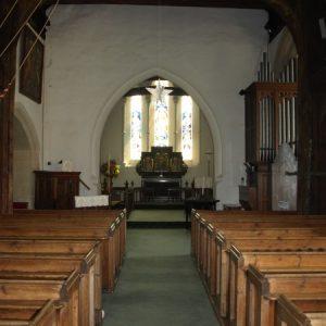 Saxon nave and chancel
