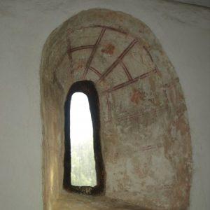 11th century Saxon window