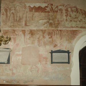 Murals in the nave