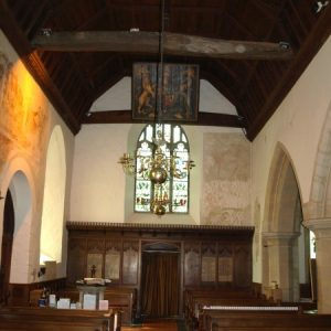 View from the nave looking west