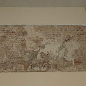 16th century wall markings