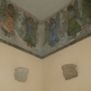 Wall paintings of angels