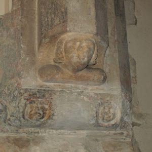Detail of carved corbel