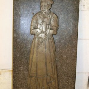 Brass standing in north chapel