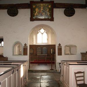The nave viewed looking east