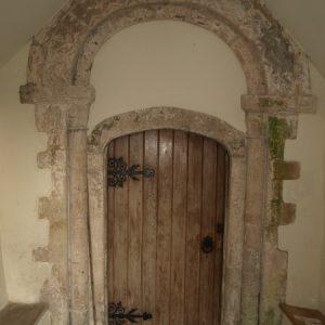 The Norman south doorway