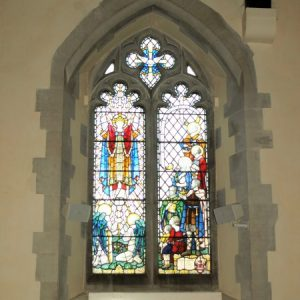 North aisle stained glass