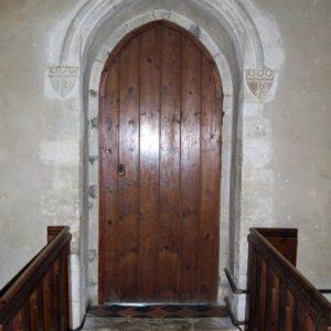Medieval north doorway