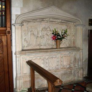 Richard Sackville niche tomb
