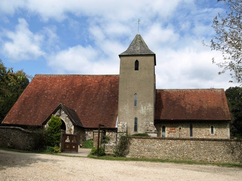 St Peter's from the south