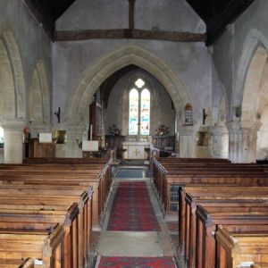 The nave, looking east towards the chancel