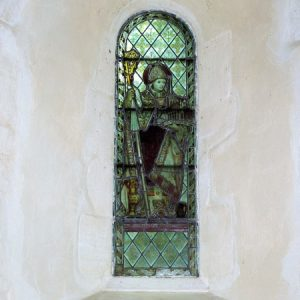 Stained glass depicting St Richard of Chichester