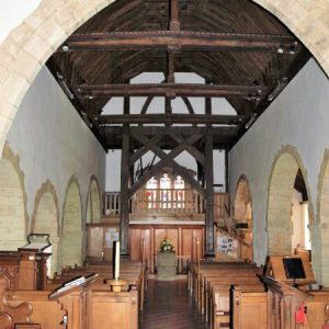 The nave viewed from the chancel