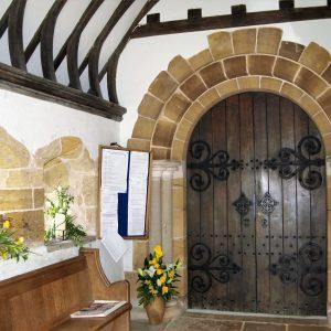 13th century north porch