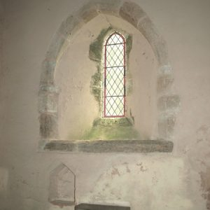 Original Norman transitional window