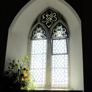 South nave 2-lght window