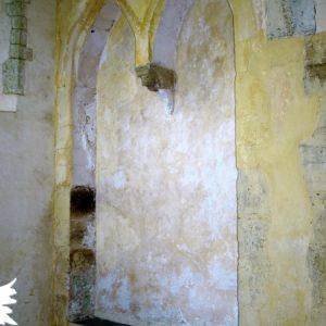 South transept double sedilla