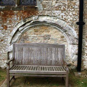 External tomb recess
