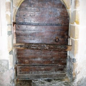 Disused north doorway