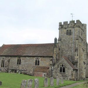 The north elevation of St Mary's