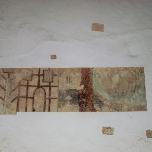 Another painting on the nave wall