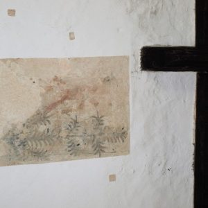 Wall painting in the nave