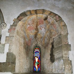 Late Saxon or early Norman window