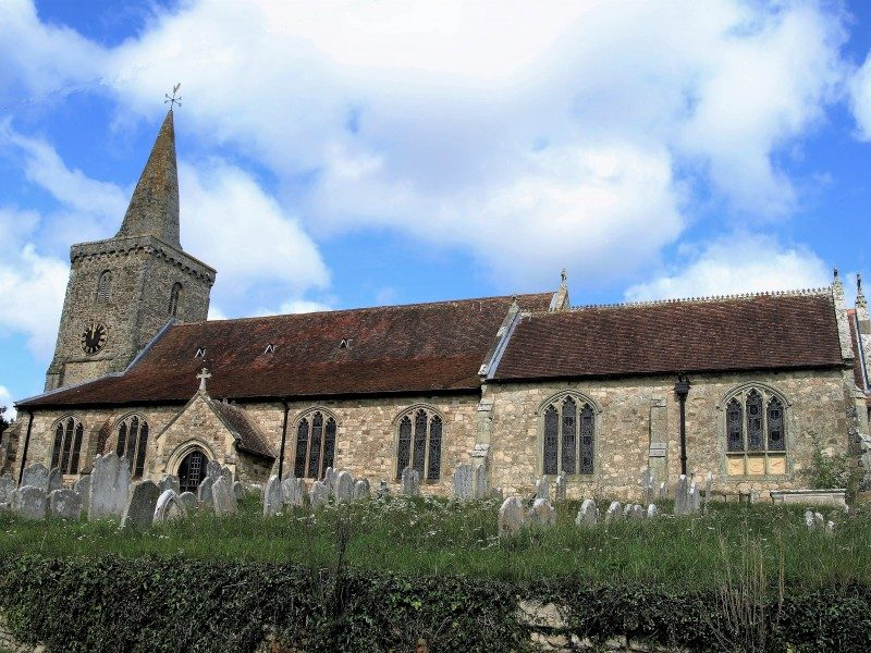 St Mary's from the south