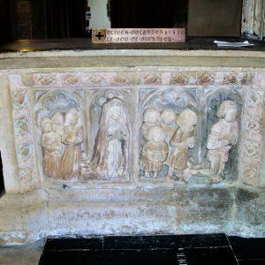 Sir Oliver Oglander tomb