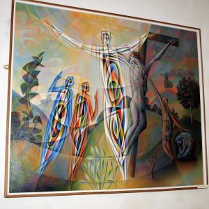 Modern interpretation of the Crucifixion