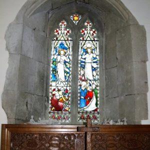 2-light window in the south chapel