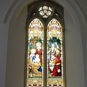 The chancel south window