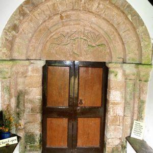 The Norman doorway