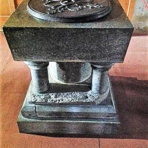 The font, part 12th century