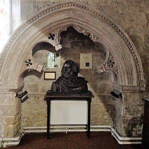 The Tennyson bust