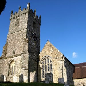 The church of All Saints from the south-west