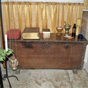 17th century parish chest