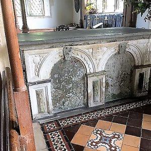 The Jane Dillington tomb