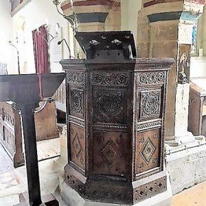 The Jacobean pulpit