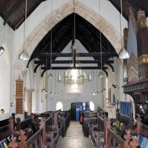A view west from the chancel