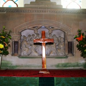 Early 19th century carved reredos
