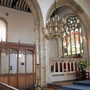 Clare Chapel east window