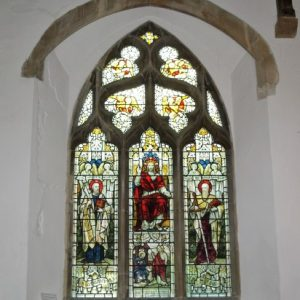 3-light window in the north aisle