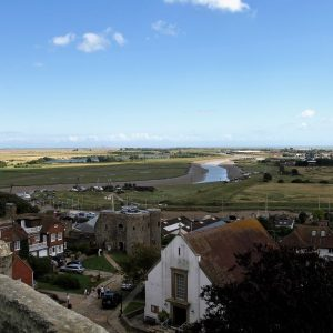 The view from the tower across the Rother