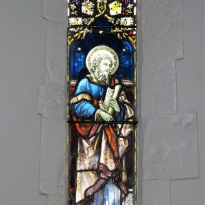Early English lancet in the chancel