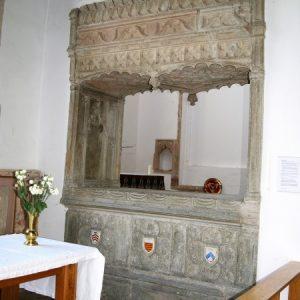The Hopton tomb