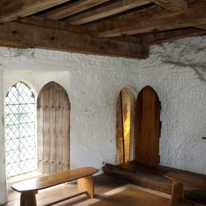 The priest's room over the porch