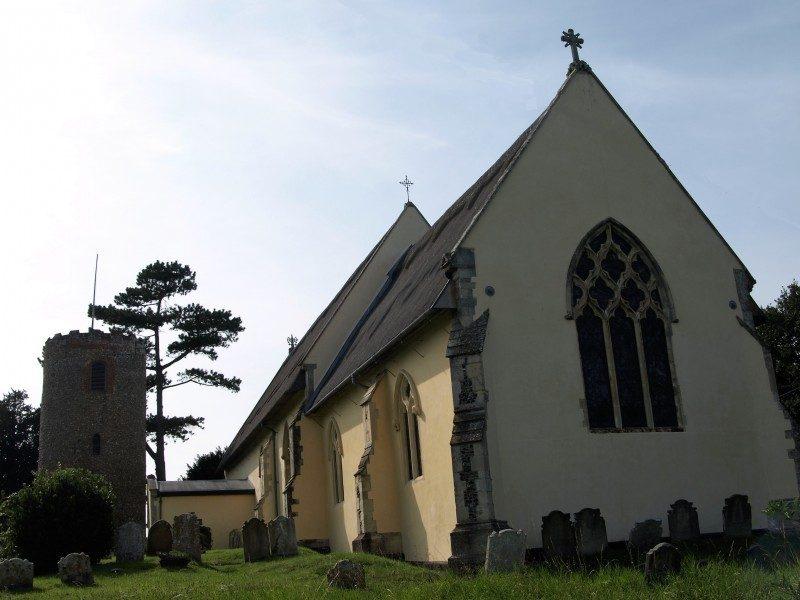 Bramfield Church