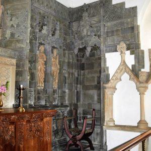 The south half of the chancel reredos
