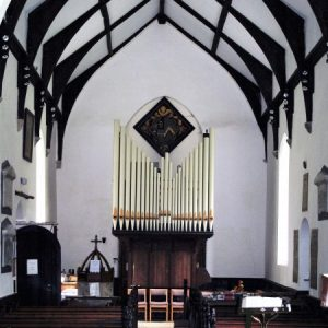 The nave, looking west